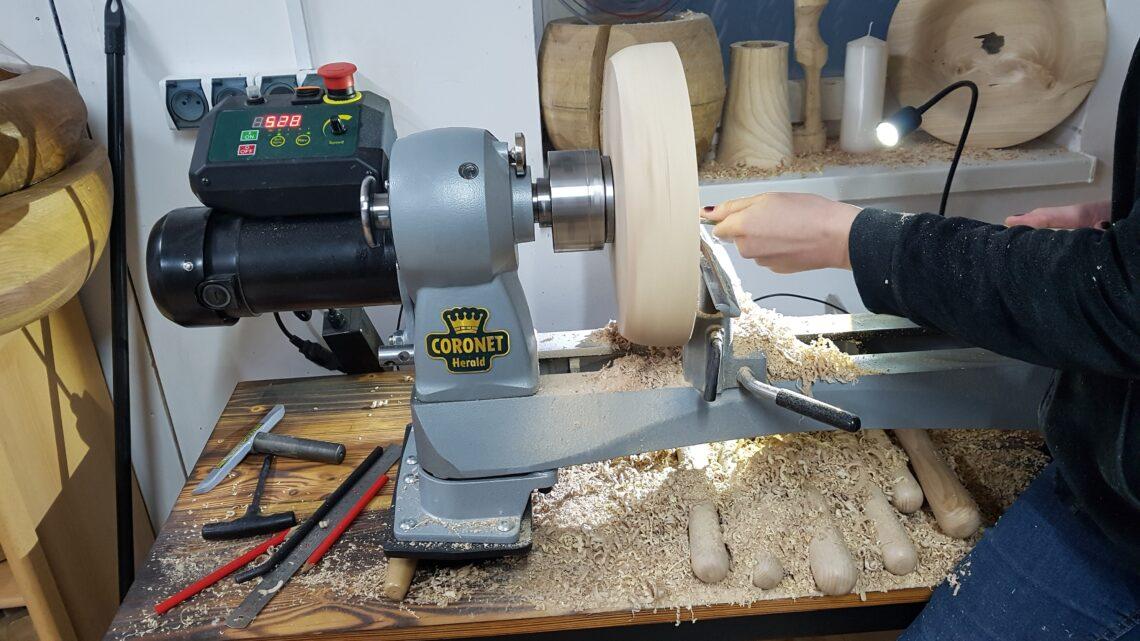 indywidualny kurs toczenia drewna