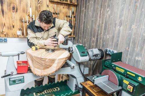 Kurs toczenia drewna
